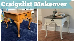 Chalk Paint For Beginners & Java Gel Stain Tutorial