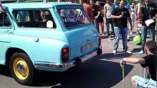 preview picture of video 'Motoryzacyjne Dni Kamieńska - Konkurs na najgłośniejszy tłumik'