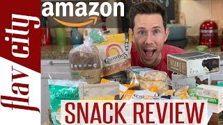 15 Most Popular Healthy Snacks On Amazon Reviewed - Keto, Paleo, & More!