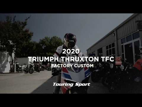 2020 Triumph thruxton tfc in Greenville, South Carolina - Video 1