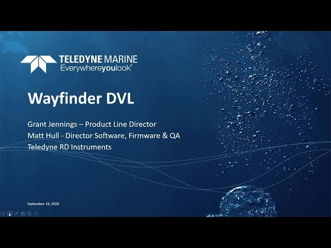 Introducing the NEW Wayfinder DVL for Micro Vehicles