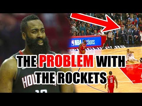 The HIDDEN PROBLEM With The Rockets In The NBA Playoffs