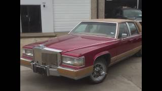 Slab Customs 1990 Cadillac Brougham