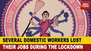 The Nowhere People: Several Domestic Workers Not Paid During The Lockdown | Get Real India - Download this Video in MP3, M4A, WEBM, MP4, 3GP