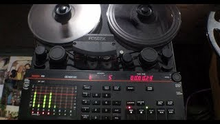 ANALOGUE TAPE in a DIGITAL AGE part 3: Fostex R8 in action