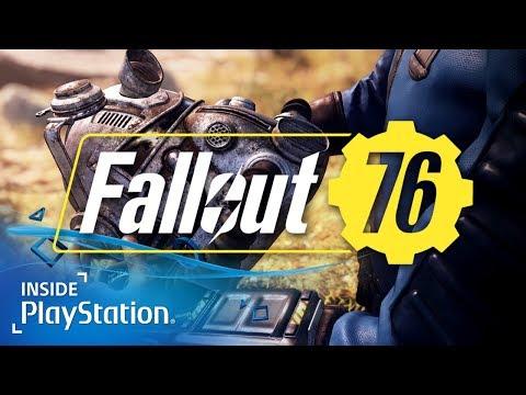 Fallout 76 für PS4: Erste Infos zum online survival RPG