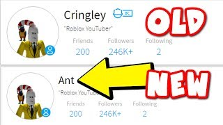 Ant Roblox New Videos Changing My Roblox Name To Ant Minecraftvideos Tv
