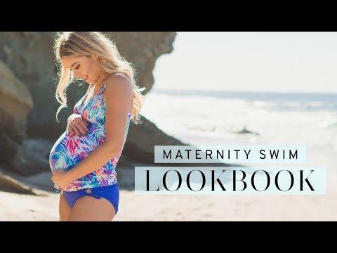 PinkBlush Maternity's 2017 Swim Lookbook