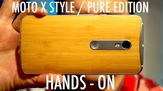 Moto X Style / Moto X Pure Edition (2015) Hands-On | Pocketnow