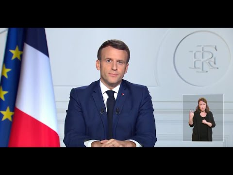 Emmanuel Macron pleure Valéry Giscard d'Estaing