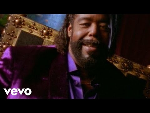 Barry White - Put Me In Your Mix (Official Music Video)