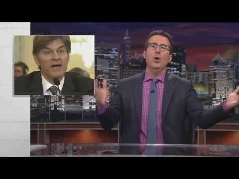 Dr. Oz and Nutritional Supplements: Last Week Tonight with John ... ▶16:26