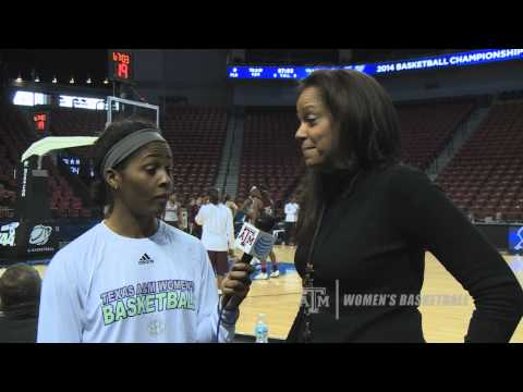 Texas A&M WBB: Sydney Colson interviews ESPN's Carolyn Peck