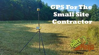 Laying Out A House Lot For Excavation - Trimble SPS585 GPS