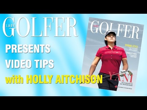 Golf video tips: Don't lose power in your drive with Holly Aitchison