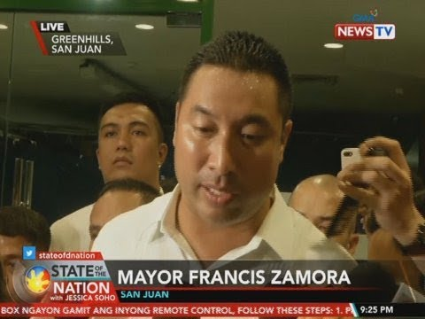 [GMA]  SONA: Panayam kay San Juan Mayor Francis Zamora tungkol sa hostage-taking sa Greenhills