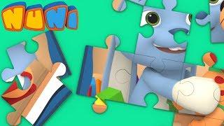 NuNi Puzzle | Dog puzzle for kids| puzzle videos