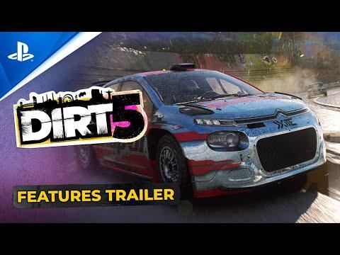 Dirt 5: sbirciamo sotto al cofano del nuovissimo trailer del simulatore di guida fuoristrada
