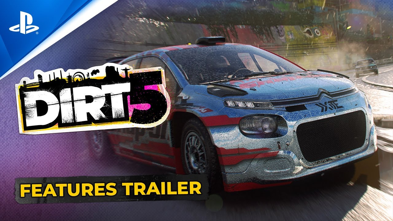 Dirt 5: Under the hood of the off-road racer's brand new trailer