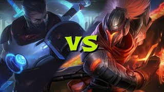 PULSEFIRE Shen vs Yasuo! League of Legends