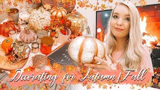 DECORATE FOR FALL/AUTUMN WITH ME 2020 | COSY FALL DECOR
