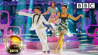THEY GOT 40! Karim and Amy Jive to You Can't Stop the Beat - Week 11 Musicals   BBC Strictly 2019