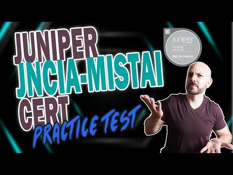 Juniper Networks JNCIA-MistAI Practice Test | WiFi, 802.11x, and ...