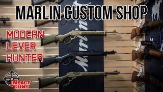 Marlin Custom Shop Modern Lever Hunter Rifles - Review & Range Test