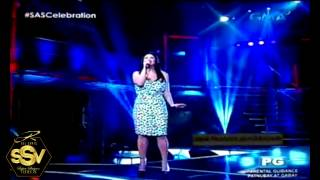 BURN (Tina Arena Cover) - Regine Velasquez on Sunday All-Stars