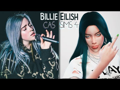 The Sims 4 | CAS | Billie Eilish | Билли Айлиш