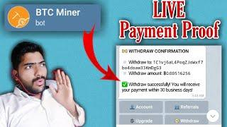 BTC Miner Telegramm Adalah