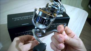 Катушка shimano 15 twin power c3000