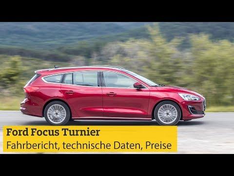 Ford Focus Turnier: Fahrbericht, technische Daten, Motoren, Preise | ADAC 2018