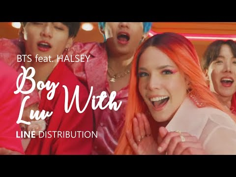 BTS 방탄소년단 Feat. HALSEY - BOY WITH LUV 작은 것들을 위한 시 Studio/Album Ver. | Line Distribution - Meon