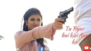 Tu Pyar Hai Kisi Aur Ka   Female version & Cover by Khwahish Gal   Dil Hai Ke Manta Nahin