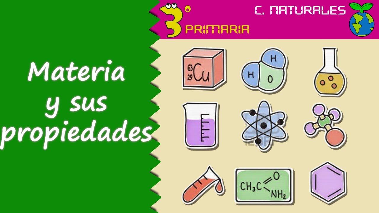 Ciencias de la Naturaleza. 3º Primaria. Tema 6. La materia y sus propiedades
