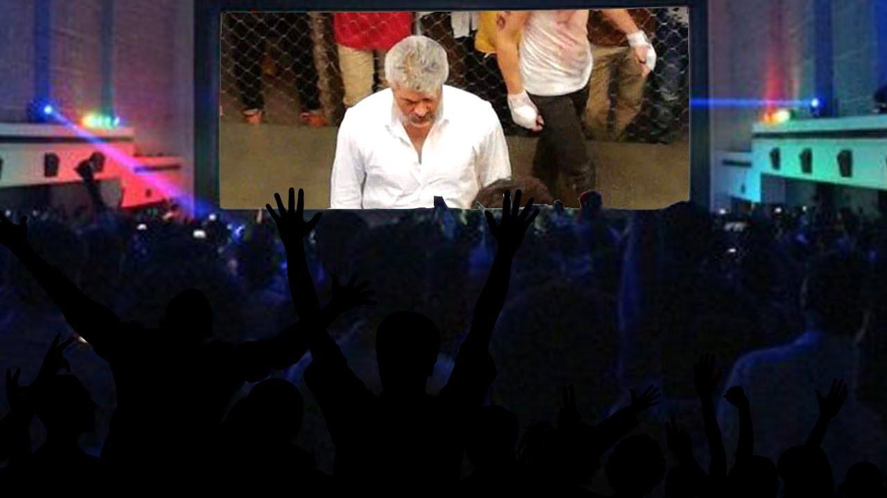 லீக் ஆனது விஸ்வாசம் படத்தின் கூண்டு சண்டைக்காட்சி | Viswasam Cage Fight Scene Revealed!