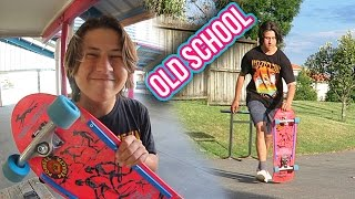 OLD SCHOOL SKATEBOARD CRUISING!