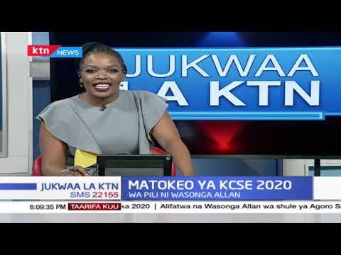 JUKWAA LA KTN: Simiyu Wanjala ameongoza kwa alama 87.334 (A) kwenye mtihani wa KCSE