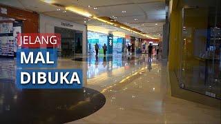 Jelang Pembukaan Mal di Jakarta, Begini Suasana di Mall Grand Indonesia