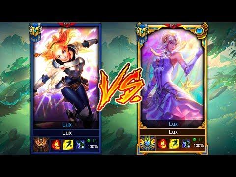 Bronze Lux vs. Challenger Lux