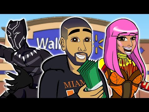 Drake - God's Plan (CARTOON PARODY)