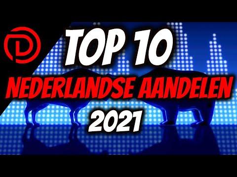 Top 10 Nederlandse AANDELEN voor 2021