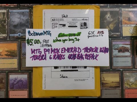 $5 eBay MTG Repack Review Bobmanmtg | Bad Boy Gaming