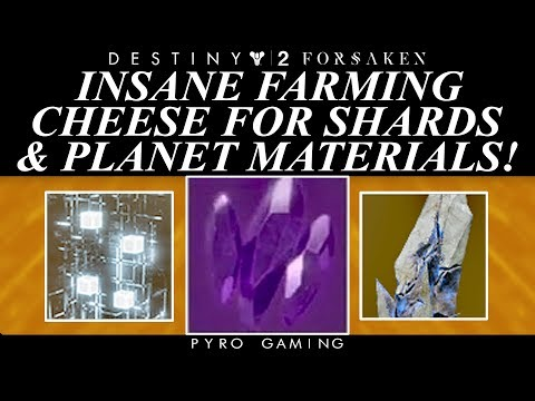 Destiny 2: Insane Planetary Material And Legendary Shard Farming Cheese!