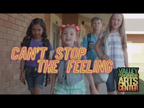 """Can't Stop the Feeling"" - Justin Timberlake TROLLS, Cover by Valley Children's Choir"