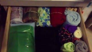 Organize Fabrics In A Small Space