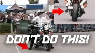 5 MOTORCYCLE PET PEEVES (DON'T DO THIS!)