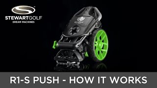 Stewart Golf R Series Push Trolley - How it works