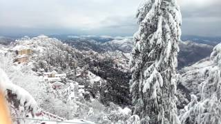 Snowfall In Shimla 2017